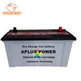 Venda por grosso de carga seca armazenamento recarregável Bateria de chumbo-ácido N100 95e41R
