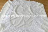 Cubierta de colchón ajustada protector impermeable del colchón de la toalla de Terry del fallo de funcionamiento de base de la talla de la reina