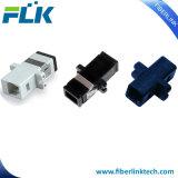 Adaptateur uni-mode de fibre optique du simplex MTRJ pour des Réseaux étendus