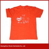 綿またはポリエステルファブリック(R118)が付いているカスタム印刷の人のTシャツ