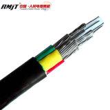 Conducteur en aluminium du fil en acier avec isolation XLPE Câble d'alimentation blindés