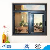 Akpt90 Vía única ventana deslizante de seguridad con doble vidrio templado