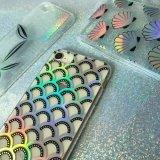 호화스러운 다채로운 패턴 적합했던 iPhone x를 위한 전기도금을 하는 전화 상자