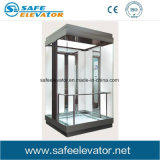 Elevatore panoramico facente un giro turistico dell'elevatore di vetro laminato di Vvvf