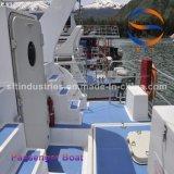 18m de pasajeros de gran barco de recreo FRP de fibra de vidrio.