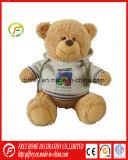 Vacances de Noël ours en peluche jouet en peluche avec T-Shirt