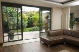 Дверь сползая стекла термально пролома верхнего качества алюминиевая