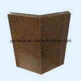 Panneaux en aluminium de nid d'abeilles de couleur en bois perforée pour la décoration intérieure