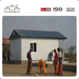 Prefabricados pequeña Villa Casa de la casa de paneles sándwich para los Pobres