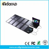 휴대용 퍼스널 컴퓨터 정제 노트북을%s DC 20V와 USB 5V 산출 충전기를 가진 태양 충전기 위원회를 접히는 60W 휴대용 Sunpower