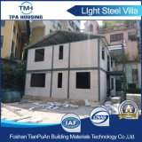 Panyu에 있는 가벼운 강철 구조물 별장 집 구조