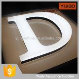Letras de canaleta dianteiras do diodo emissor de luz Acryl do brilho elevado da iluminação