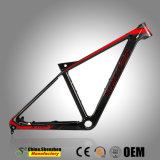 Superlight внутренней маршрутизации всех кабелей углерода горный велосипед рамы 27.5er