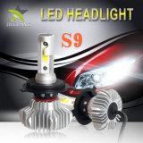 Bulbos impermeáveis 9007 do farol do diodo emissor de luz do carro barato da recolocação 12V 24V do bulbo do farol do diodo emissor de luz 6000lm