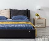 Europäisches modernes Gas geanhobenes Schlafzimmer-Speicher-Leder-Bett