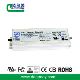 Condutor LED impermeável com certificação UL 150W 36V 3.4A
