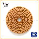 4''-100 mm wet diamond Tampon à polir meuleuse d'angle pour le Granite Marbre/plaquettes de polissage