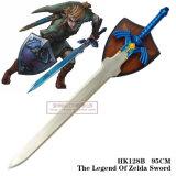 A legenda de espadas do filme da espada de Zelda com 1:1 da chapa