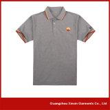 Homens feito-à-medida do piqué do algodão da fábrica de Guangzhou camisas de polo (P104)