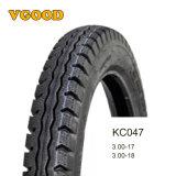 Comercio al por mayor China motocicleta 2.75-18 3.00-18 mejor neumático 130/90-15