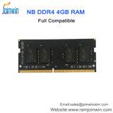 Novos produtos para 2018 MEMÓRIA DDR4 4GB de RAM Laptop