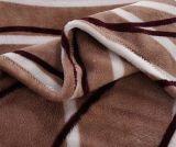 Couverture 100% estampée à la mode d'ouatine de flanelle de polyester