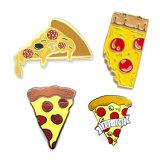 Pinstarはあなた自身のハンブルクピザ折りえりPinのバッジを作る