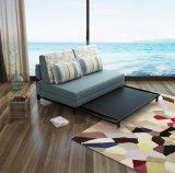 Un mobilier moderne canapé d'angle tissu Cum lit canapé-lit (192*150cm)