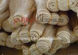 Costura de cabelo brasileiro mão atada trama Tecelagem de fio de cabelo (PPG-L-0138)