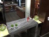 Bovenkant van Countertop&Vanity van de Keuken van het Graniet van de fantasie de Bruine