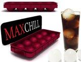 食品等級のMaxchillのアイスボールメーカー-すべての飲み物のための球形のアイスボール、環境に優しい10のキャビティ型を作りなさい