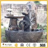 Fontana di pietra antica decorativa esterna del giardino del granito della Cina da vendere