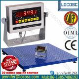 Usine de vendre la plate-forme électronique numérique directe pesant 1 tonne Balance au sol