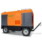 Surtidor portable diesel industrial de los compresores de aire del tornillo del flujo principal