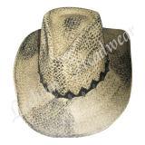 Stroh-Cowboy-Wannen-Hut (LB15022)
