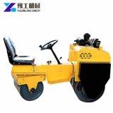 Rodillo compactador vibratorio de equipos de construcción pequeño camino de rodillos de la mano