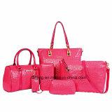 Modo di prezzi di fabbrica una borsa di cuoio stabilita dei 6 della parte della donna del sacchetto sacchetti delle signore