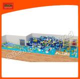 Теме океана развлечений для использования внутри помещений пластиковые игровая площадка оборудование