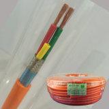 Isolation en polyéthylène réticulé à gaine PVC Câble électrique de base de cuivre