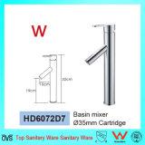 Marca de água e de Wels loiça sanitária aprovadas a nível individual de latão Torneira Lavatório Redondo (HD6072D7)