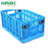 Empilable Boîte en plastique de stockage de supermarchés de pliage