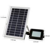 Le projecteur extérieur solaire IP65 de garantie imperméabilisent la lumière d'inondation solaire pour le jardin