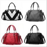 Damehandbags Striped Women PU Fashion beiläufiger Tote (WDL0903)