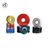 На участок термозакрепления силиконового каучука ленту для группирования провода