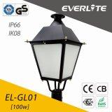 IP66 Ik08のEverlite 100W LEDの庭ライト
