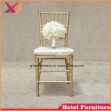 판매를 위한 의자를 식사하는 도매 금속 결혼식 연회 Chiavari Tiffany