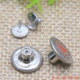 Крепежные детали одежды изготовленный на заказ<br/> металлические джинсы прихватите кнопку