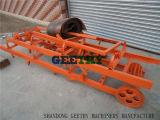 手動ブロック機械Qtj4-40セメントのコンクリートブロック機械