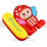 Kind-Ausbildung, die Musik-Telefon-Spielzeug für Spiel-Haus erlernt