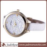 Band van het Leer van de Manier van de Stijl van de Verkoop van het horloge de Gehele Nieuwe Dame Wristwatch